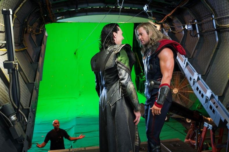 Avengers Loki Thor