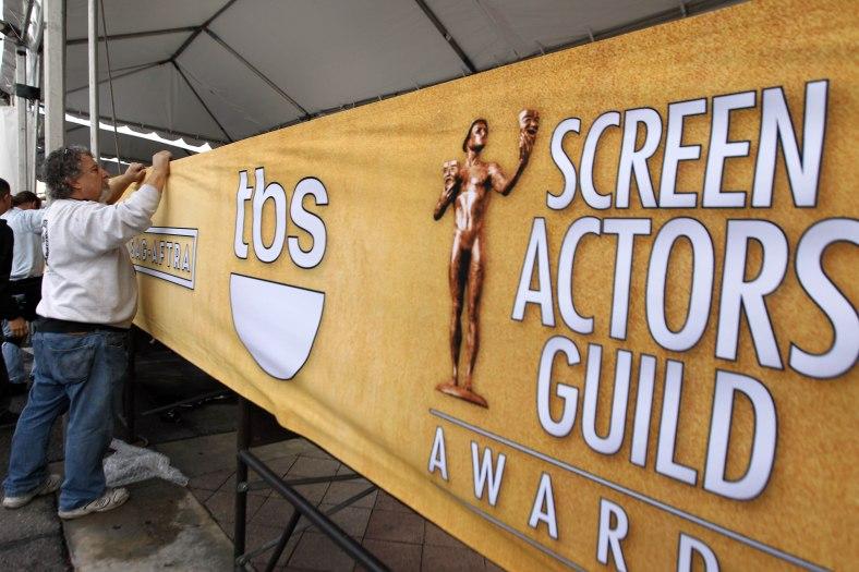 SAG Awards Setup