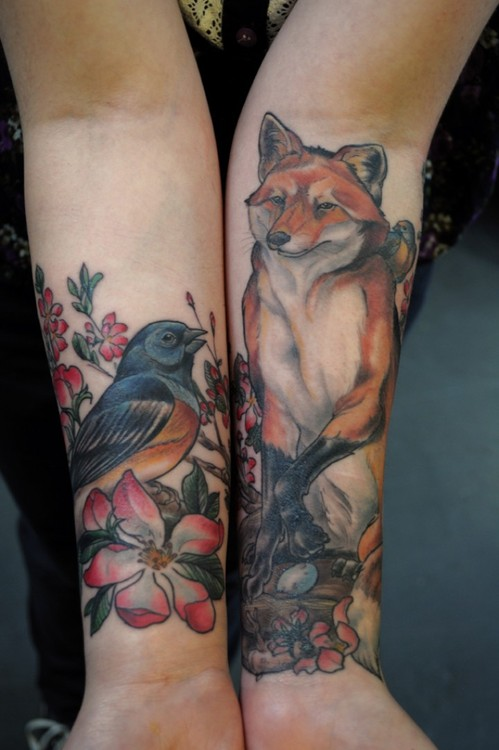 wildlife body, image, ink