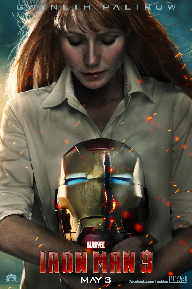pepper potts gwineth paltrow poster iron man