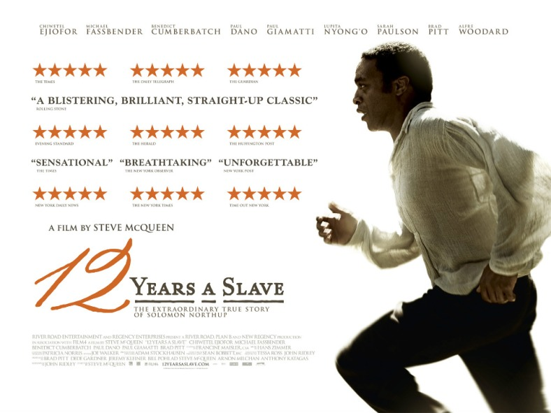 12 Years A Slave, Critics Poster