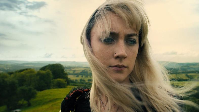 #HowILiveNow #SaoirseRonan, #bangs, piercings, blue eyes & cozy sweaters