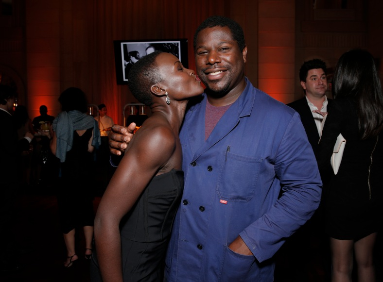 Lupita Nyong'om, Steve McQueen steve mcqueen 12 years a slave
