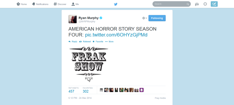 FireShot Screen Capture #006 - 'Twitter _ MrRPMurphy_ AMERICAN HORROR STORY SEASON ___' - twitter_com_MrRPMurphy_status_448145257918513153_photo_1