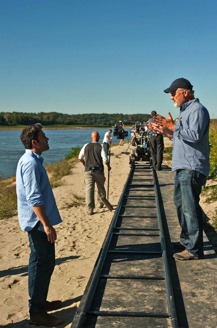 Ben-Affleck-and-David-Fincher-in-Gone-Girl