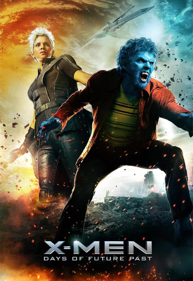 X-Men-Days-of-Future-Past-Storm-and-Beast-poster