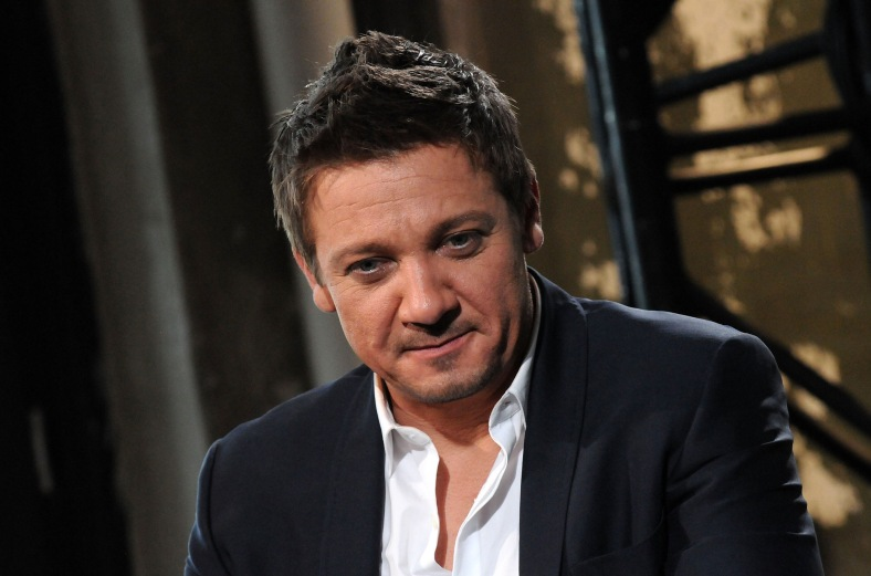 NEW YORK, NY - OCTOBER 10:  Actor Jeremy Renner speaks during AOL's BUILD Series Presents: Jeremy Renner and Michael Cuesta 'Kill The Messenger' at AOL Studios on October 10, 2014 in New York City.  (Photo by Desiree Navarro/WireImage)