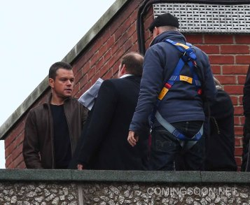 'Bourne 5' filming in London