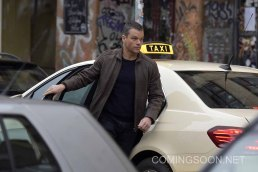 Matt Damon filming the latest Bourne movie in Berlin