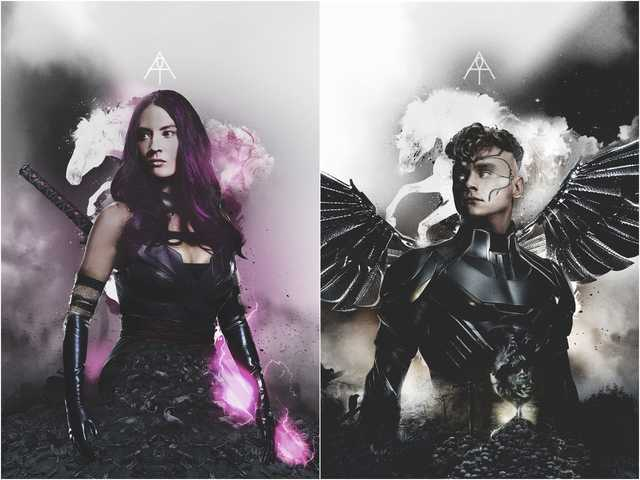 x-men-apocalypse-horsemen-psylocke-angel